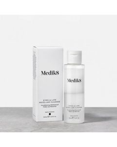 Medik8 Eyes & Lips Micellar Cleanse with box