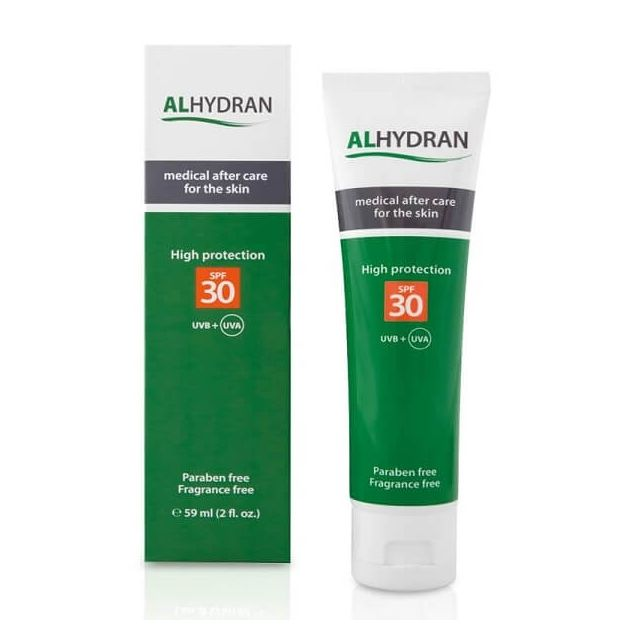 Alhydran 59ml SPF30 - Medical after care for skin