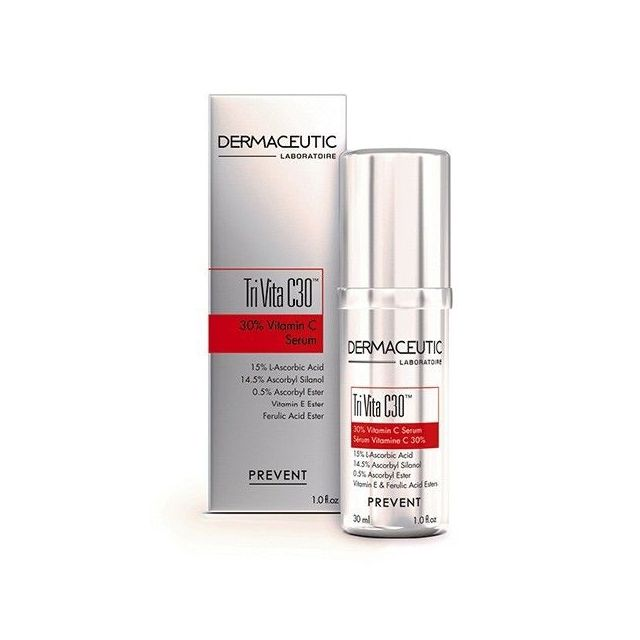 Dermaceutic Tri-Vita C30 product and box