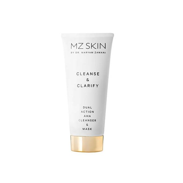 MZ SKIN Cleanse & Clarity Dual Action AHA Cleanser & Mask