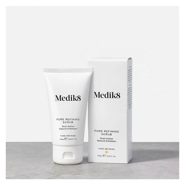 Medik8 Pore Refining Scrub with box