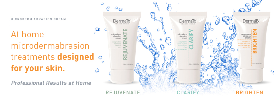 DermaTx at home microdermabrasion range