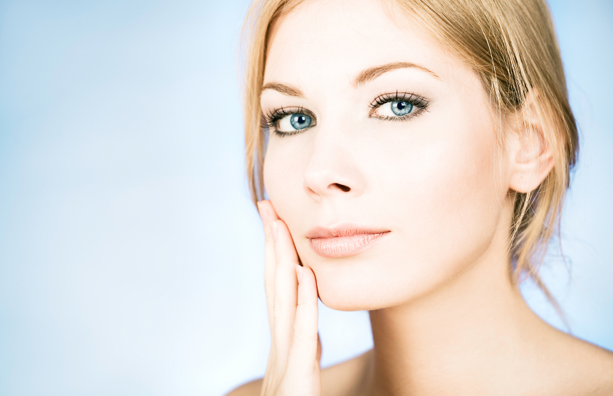 Lady with youthful skin