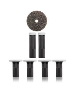PMD Black Replacement Discs – For All Over Body and Feet