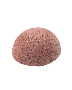 MZ SKIN Natural Red Clay Konjac Sponge