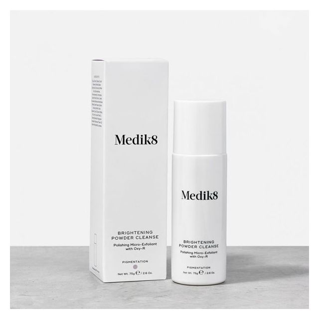 Medik8 Brightening Powder Cleanse with box