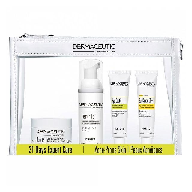 Dermaceutic 21 Days Expert Care Kit - Acne Prone Skin