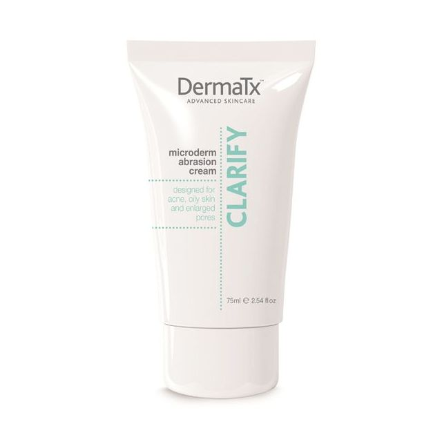 DermaTx Microdermabrasion Clarify Cream and box