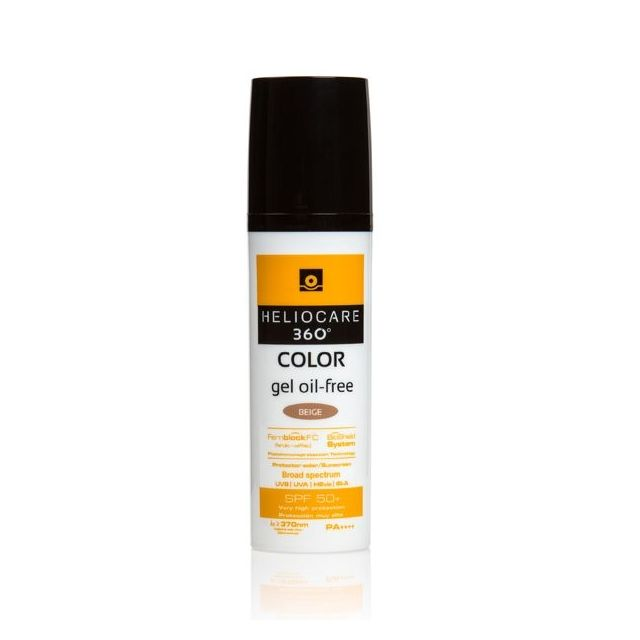 Heliocare 360 Color Gel Oil-free Beige SPF50