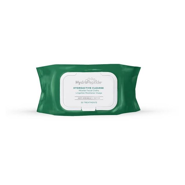 Hydropeptide Hydroactive Cleanse - Micellar Facial Wipes
