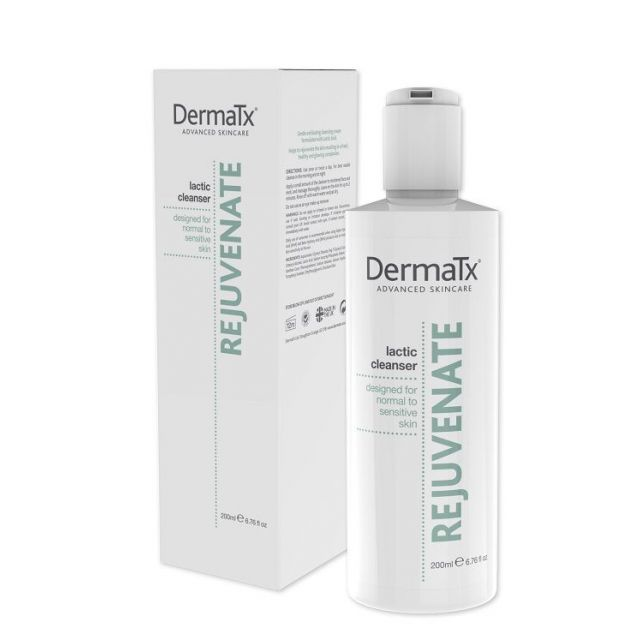 DermaTx Rejuvenate Lactic Cleanser + box